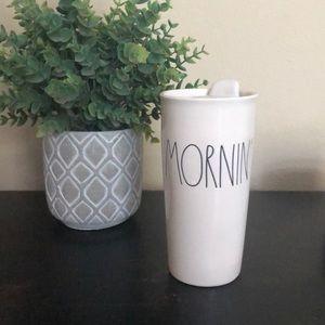 Rae Dunn Mornin' Travel Mug